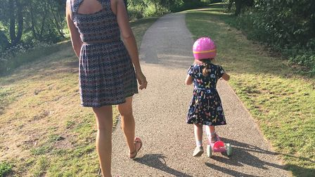 Needham Lake in Suffolk is great place to explore during the summer holidays Picture: SUZANNE DAY