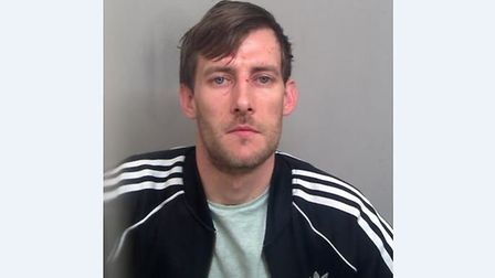 Peter Learmonth, 30, of Campion Road in Nayland, was given a five-year jail sentence after being fou