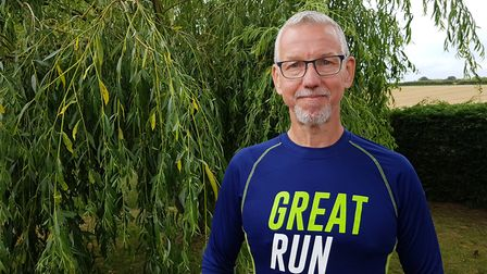 Shotley Gate resident Gary Edwards is now the leader of Great Run Local at Alton Water Picture: RACH