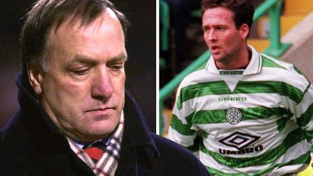 Paul Lambert and Dick Advocaat went head-to-head while at Celtic and Rangers respectively. Picture: