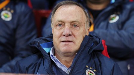 Dick Advocaat is in charge of FC Utrecht. Picture: PA