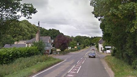 A man who died following a crash in Great Barton has been named Picture: GOOGLE MAPS