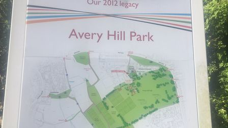 Avery Hill Park, the home of the Greenwich parkrun. Picture: CARL MARSTON