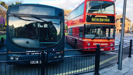 Suufolk County Council has announced cuts to bus route subsidies Picture: PAUL GEATER