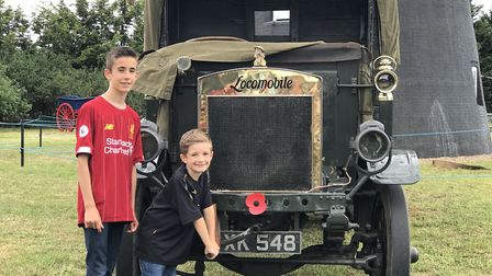 The rare Locomobile lorry once owned by former windmill owner George Vincent in the 1930s Picture: E