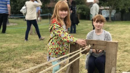 Young visitors found plenty to do at the open day Picture: ELLA WILKINSON