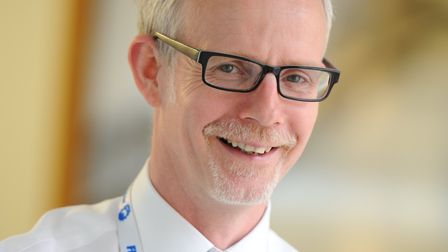 Chief executive Dr Stephen Dunn. Picture: West Suffolk NHS Foundation Trust