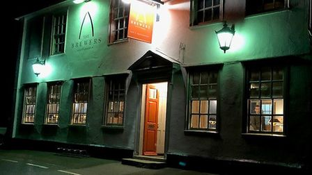 The Brewers Arms in Rattlesden - a new culinary gem in Suffolk. Picture: MARK HEATH