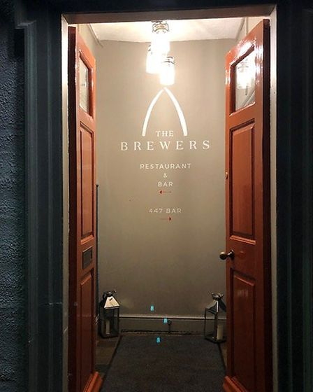 The Brewers Arms in Rattlesden is quickly making a name for itself on the local food scene. Picture: