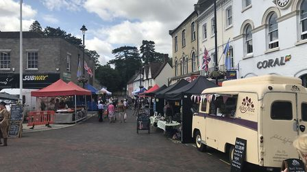The Stowmarket Food Festival 2019. Picture: Neil Didsbury