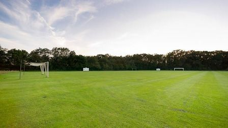 The training pitch at the Romantik Hotel Aselager Mühle. Picture: ROMANTIK HOTELS
