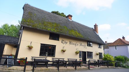 The King's Head in Laxfield Picture: GREGG BROWN