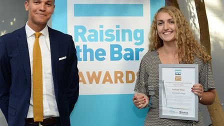 The Suffolk Raising the Bar Awards were held to recognise the work of teachers, young people and vol