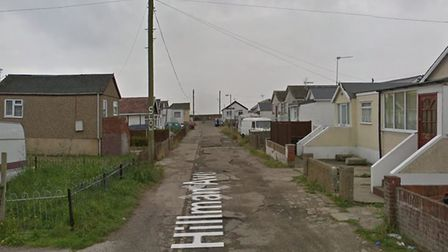 Hillman Avenue, Jaywick - police are investigating the death of a man Picture: GOOGLE STREETVIEW