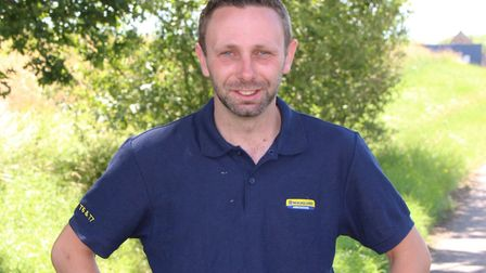 Chris Surgenor of Chelmsford Picture: FARM SAFETY FOUNDATION