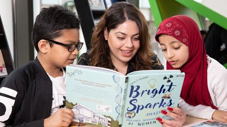 Children aged 12 and above can be reading challenge volunteers, talking to readers about their books