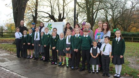 Parents protesting over proposals for children from Kedington to walk two and a half miles to Samuel