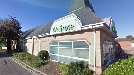 The Waitrose in Sudbury has submitted plans for changes to its car park. Picture: GOOGLE MAPS