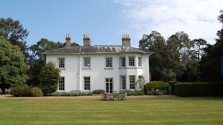 The £2.5 million property includes over 14 acres. Picture: JACKSTON-STOPS
