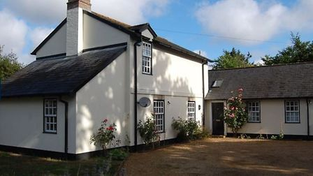 The property features a detached three bedroom coach house. Picture: JACKSON-STOPS