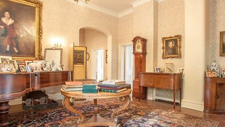 The property has five receiption rooms. Picture: JACKSON-STOPS