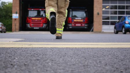 Firefighters from Clacton and Weeley were called to the property Picture: ECFRS