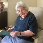Eleanor Wadsworth has turned 101 Picture: MICHAEL STEWARD