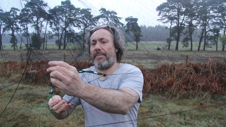 Dr Chris Hewson who is leading the cuckoo study Picture: Mike Toms