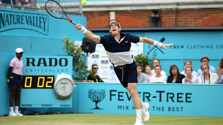 Andy Murray is back in action after a serious hip injury. Picture: PA SPORT