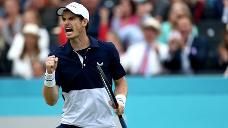 Andy Murray will play doubles at Wimbledon next week. Picture: PA SPORT