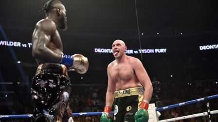 Deontay Wilder, left, and Tyson Fury fought out a thrilling draw in December. Fans will surely want
