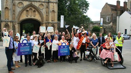 Independent businesses in Bury St Edmunds are being celebrated in a week-long drive of support Pict