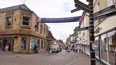 Bury St Edmunds has around 300 independent businesses operating in the town centre Picture:SONYA DUN