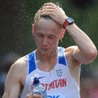 Callum Wilkinson, in action at the 2017 IAAF World Championships in London, is gunning for a medal