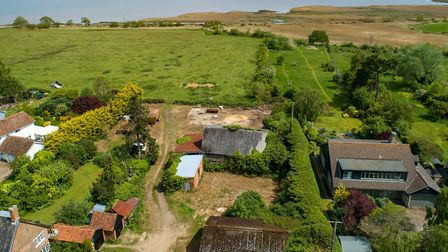 Hawthorn Farm Barns, which is being offered up for sale by the trustees of the Blythburgh Estate Pi