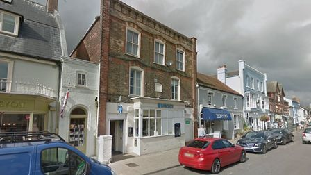 The Barclays in Aldeburgh closed earlier this year Picture: GOOGLE MAPS