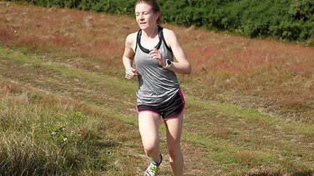 Gail Mackie, who was first lady and third overall at Saturday's Sizewell parkrun. Picture: SIZEWELL