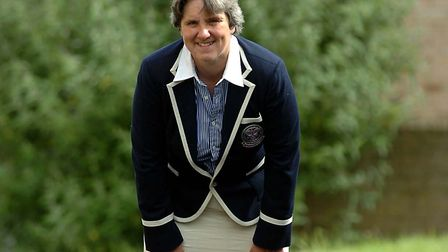 Stowmarket's Wendy Smith in her Wimbledon uniform Picture: ARCHANT