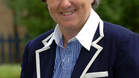 The florist is taking a two-week break from her day job to officiate at Wimbledon Picture: ARCHANT
