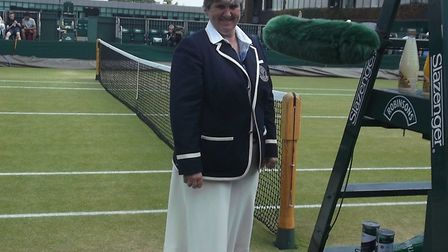 The 2019 tournament will be Wendy's 37th consecutive year at Wimbledon Picture: WENDY SMITH