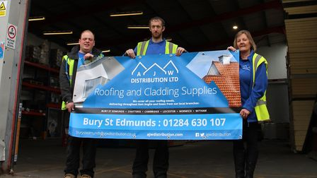 AJW Distribution's Bury St Edmunds depot is celebrating its 1st anniversary this July PICTURE: AJW D
