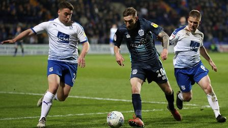 Ipswich Town had been in talks with Bury winger Danny Mayor. Photo: PA