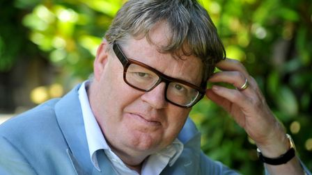 Grantchester author James Runcie who is appearing at the Felixstowe Book Festival Photo: Kate Mount