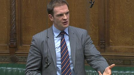 Dr Dan Poulter helped compile the report into MPs' mental health. Picture: HOUSE OF COMMONS