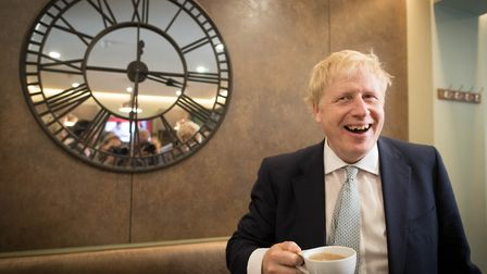 Tory leadership candidate Boris Johnson - is he developing a personality cult? Picture: Stefan Rouss