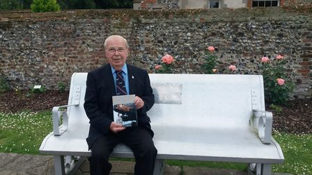 Clifford Hall in the Appleby Rose Garden Picture: SUSAN BARNES