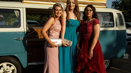 Newmarket Academy held a glamorous prom at Bedford Lodge Hotel and Spa. Picture: KEELEY HOYLE