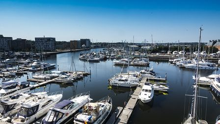 The Waterfront overlooking the River Orwell in Ipswich Picture: GETTY IMAGES/ISTOCK
