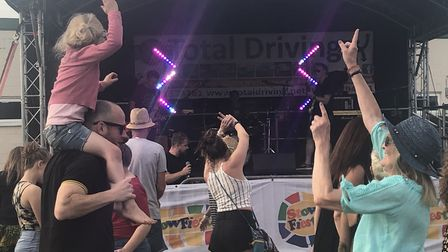 Hundreds of people enjoyed a packed two days of music and entertainment at StowFiesta 2018 Picture: