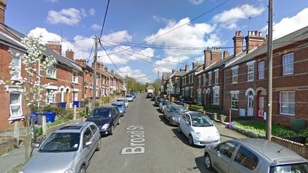 The incident took place in Broad Street in Haverhill Picture: GOOGLE MAPS